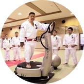 導入事例 東海大学柔道部師範 林田和孝氏