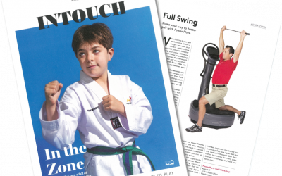 """8/1『TOKYO AMERICAN CLUB """"INTOUCH"""" 8月号』に、Power Plate ®︎ pro7™️をご紹介いただきました!"""