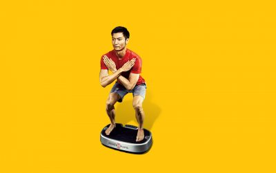 4/7【STAY FIT AT HOME】Power Plate® Japan Facebook上でライブ配信レッスンを始めました!